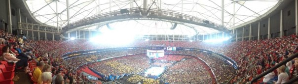 The view from the third level of the Dome. Click to enlarge.
