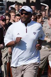 Sumlin is all business...