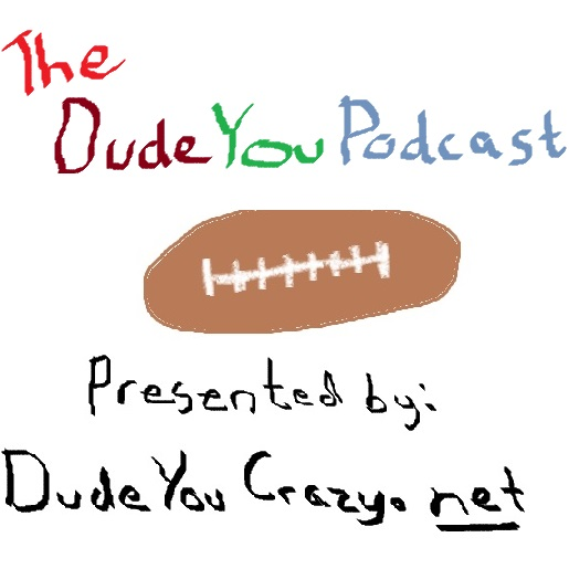 The formatting may change, but this WILL be the official logo for the Podcast.
