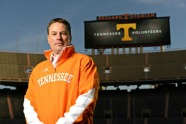 Let's hope this is the last time Neyland Stadium is empty for Butch Jones.  Photo via.