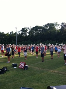 Redcoats Band Camp 2013