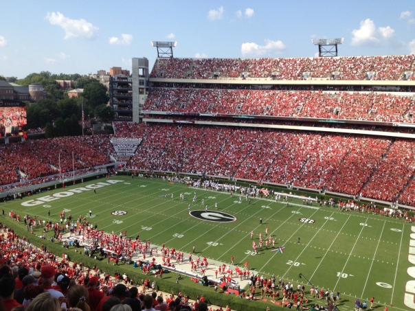 Another beautiful Saturday in Athens, GA.