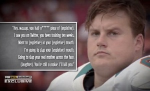 The other way to get the spotlight as an OL.