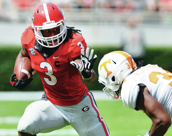 Todd Gurley - Photo courtesy of the Columbia Daily Herald