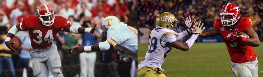 Photo on left- Courtesy of rantsports.com Photo on right - Courtesy of redandblack.com