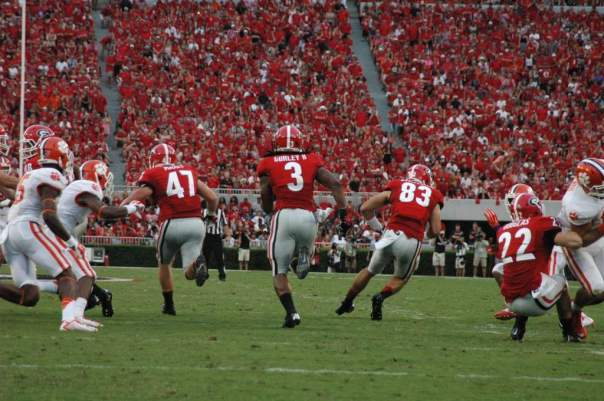 Taylor Maxey - Photo Courtesy of Logan Booker of Bulldawg Illustrated