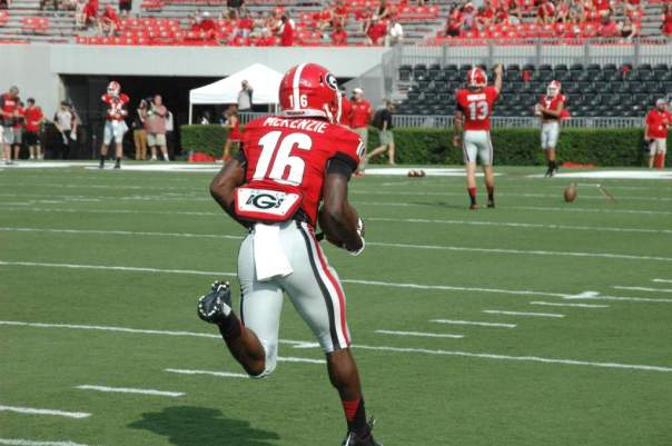 Isaiah McKenzie - Photo courtesy of Logan Booker of Bulldawg Illustrated