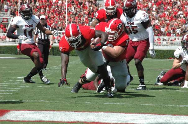 Photo courtesy of Logan Booker of Bulldawg Illustrated