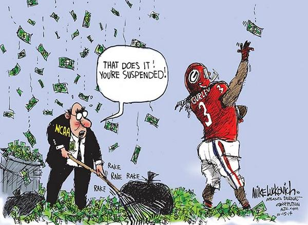 Photo courtesy of Mike Luckovich of the AJC