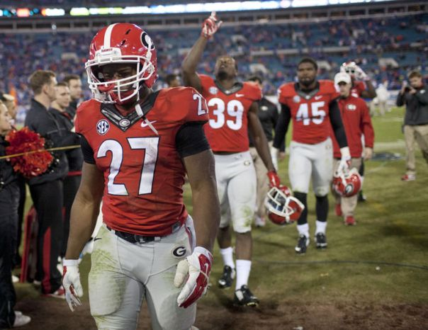 Nick Chubb - Photo courtesy of the Red & Black