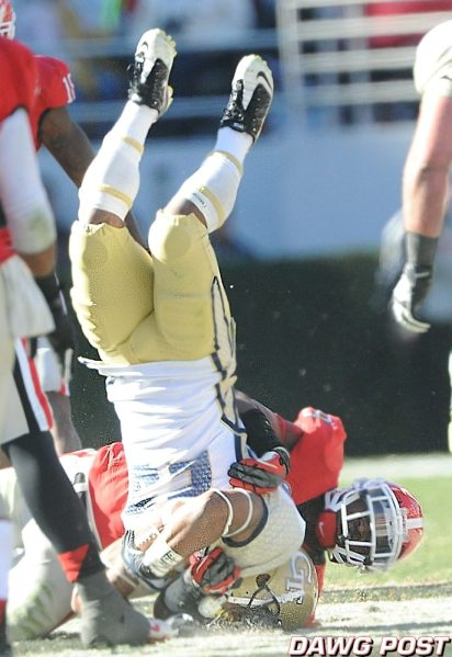 Alec Ogletree - Photo courtesy of Dawg Post